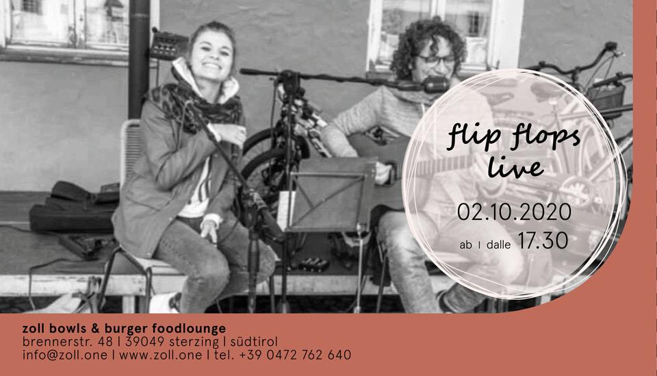 flip flops live